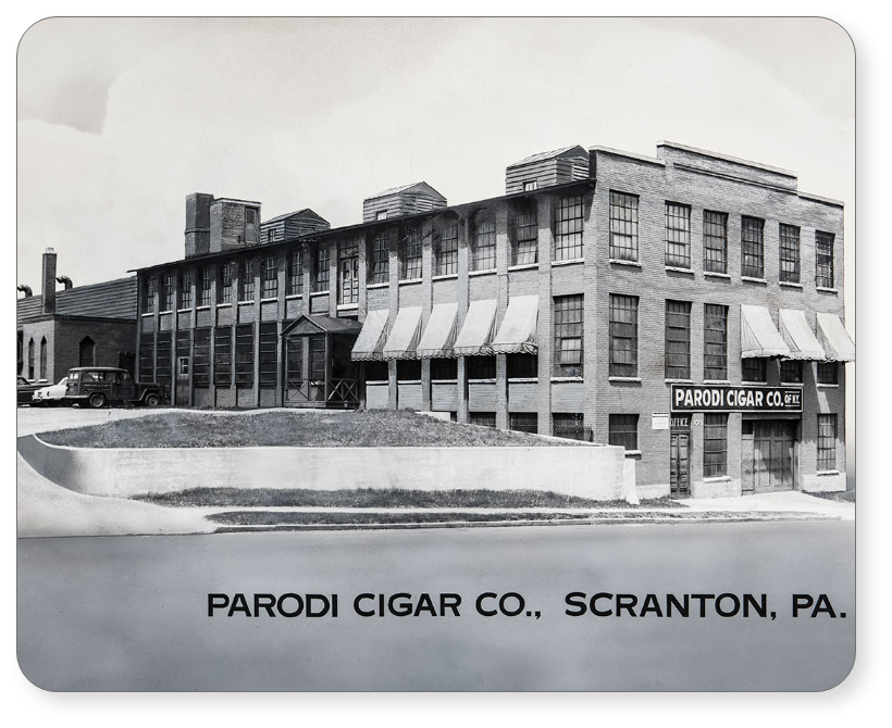 Parodi Cigar Co. Scranton, PA
