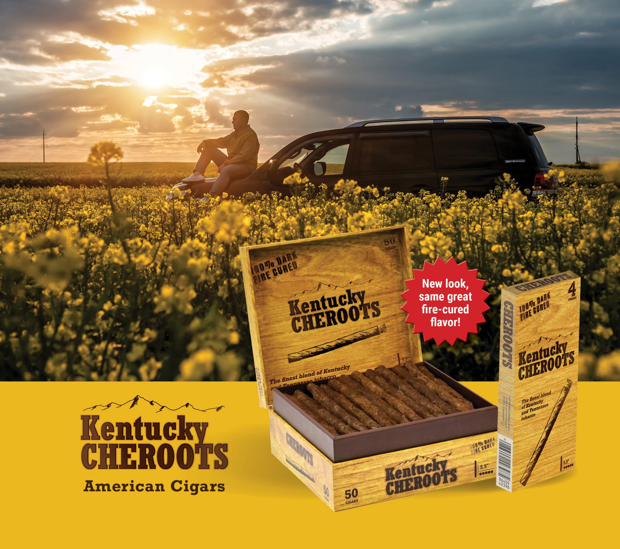 New Kentucky Cheroots Packaging